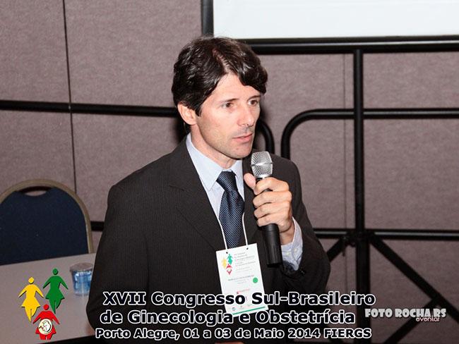 Ginecologista da Fecondare palestra no XVII Congresso Sul-Brasileiro de Ginecologia e Obstetrícia